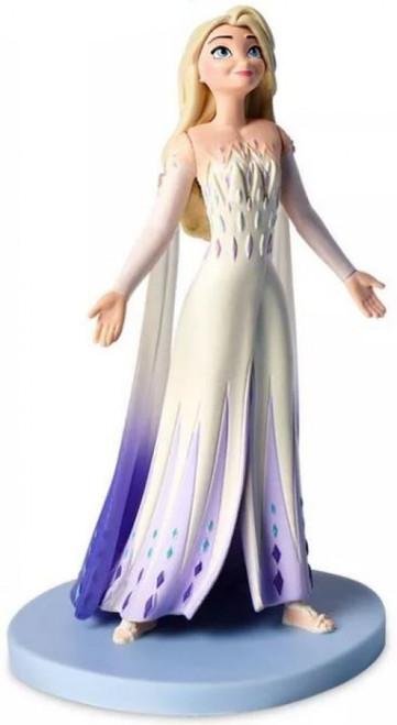 Disney Frozen 2 Elsa 4-Inch PVC Figure [White/Purple Gown Loose]