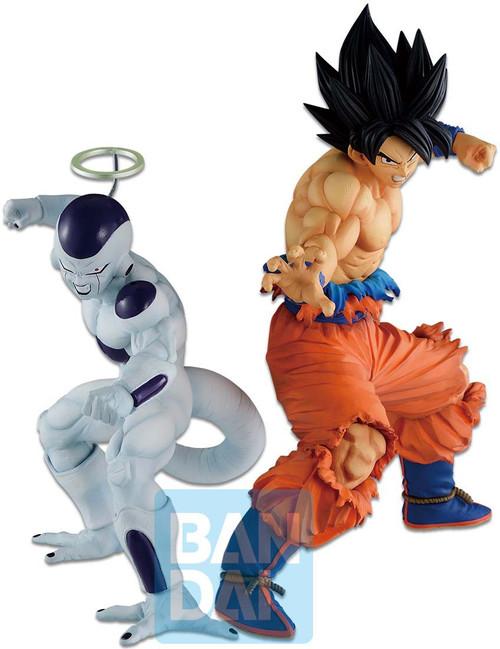 Dragon Ball Super Ichiban Son Goku & Frieza 16.2-Inch Collectible PVC Figure [Vs Omnibus Z] (Pre-Order ships July)