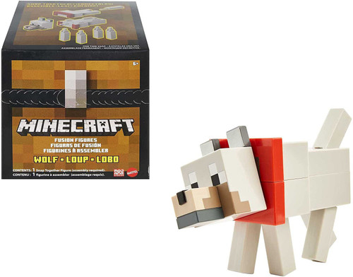 Minecraft Fusion Wolf Action Figure