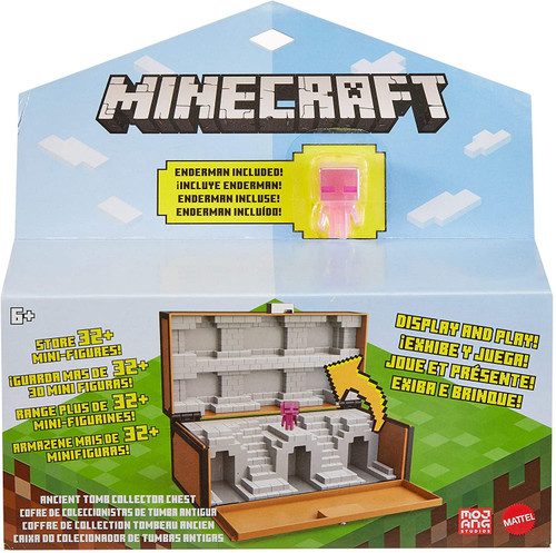 Minecraft Ancient Tomb Collector Chest Storage & Carry Case [includes Enderman!] (Pre-Order ships February)