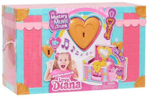 Love, Diana Mystery Music Trunk Exclusive 6-Inch Playset [Unlock Surprises!]