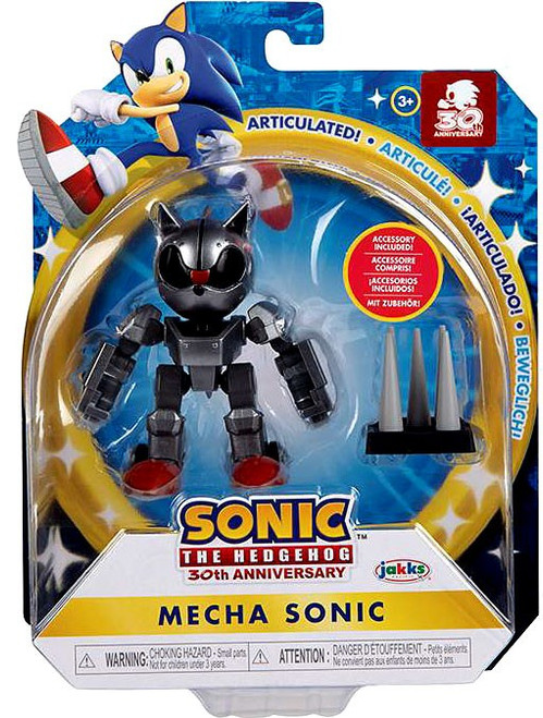 Sonic The Hedgehog Wave 5 Mecha Sonic Action Figure [Classic, with Trap Spring] (Pre-Order ships September)