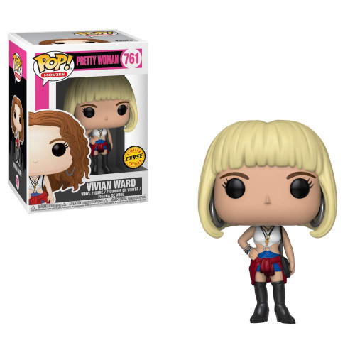Funko Pretty Woman POP! Movies Vivian Vinyl Figure #761 [Blonde Hair, Chase Version, Loose]