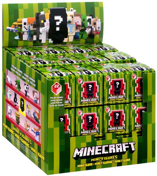 Minecraft Melon Series 22 Mystery Box [36 Packs]
