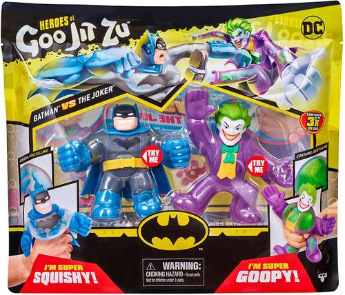 Heroes of Goo Jit Zu DC Batman vs. Joker Action Figure 2-Pack