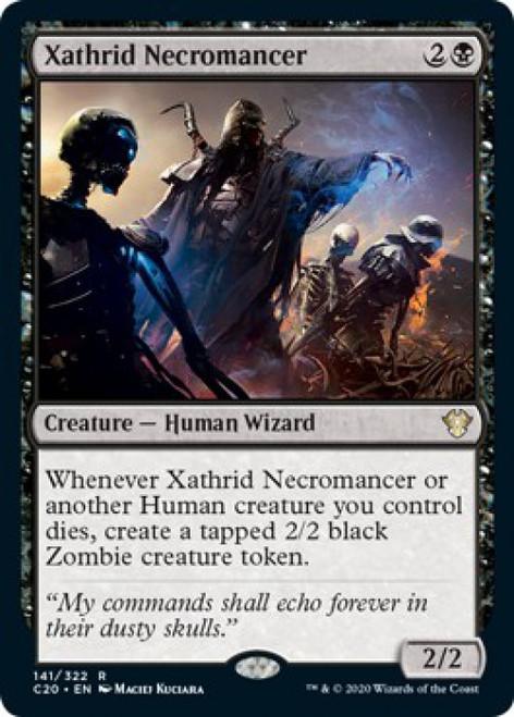 MtG Commander 2020 Rare Xathrid Necromancer #141