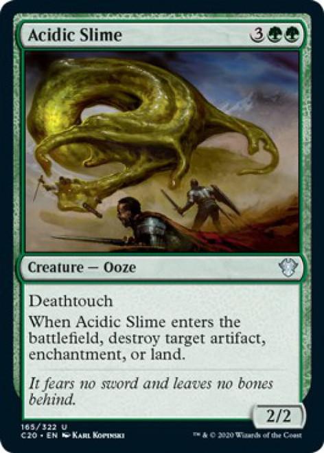 MtG Commander 2020 Uncommon Acidic Slime #165