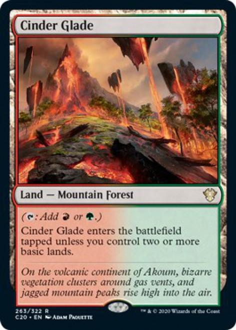 MtG Commander 2020 Rare Cinder Glade #263