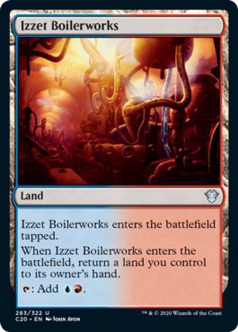 MtG Commander 2020 Uncommon Izzet Boilerworks #283