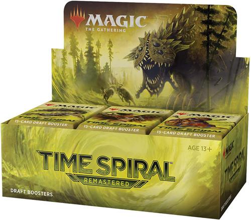 MtG Trading Card Game Time Spiral: Remastered DRAFT Booster Box [36 Packs]