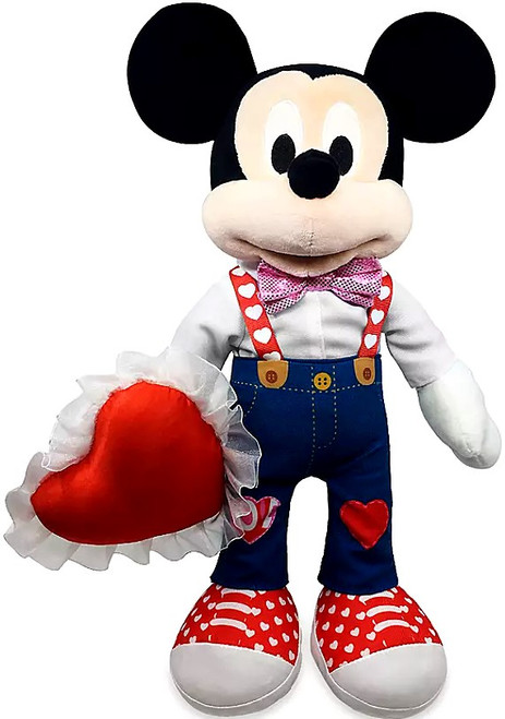 Disney 2021 Valentine's Day Mickey Mouse Exclusive 16-Inch Plush