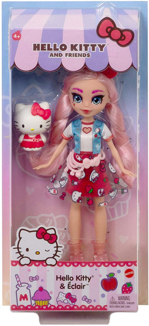 Sanrio Hello Kitty & Friends Hello Kitty & Eclair Doll
