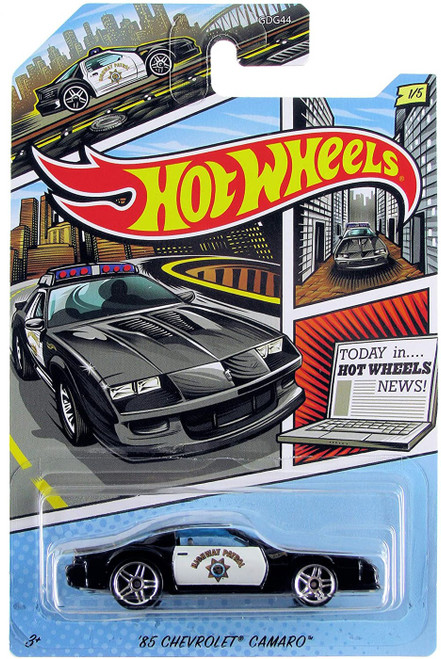 Hot Wheels HW Police '85 Chevrolet Camaro Diecast Car #1/5