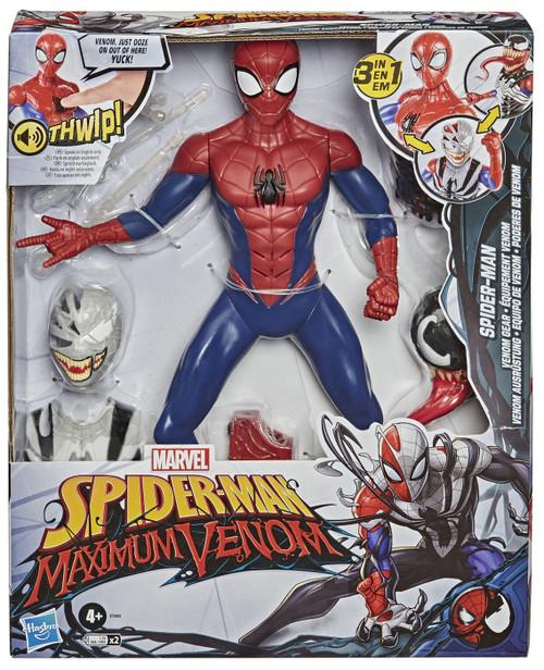 Marvel Spider-Man Maximum Venom Titan Hero Series Spider-Man Exclusive Action Figure [Venom Gear]