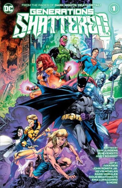 DC Comics Generations Shattered #1A Comic Book