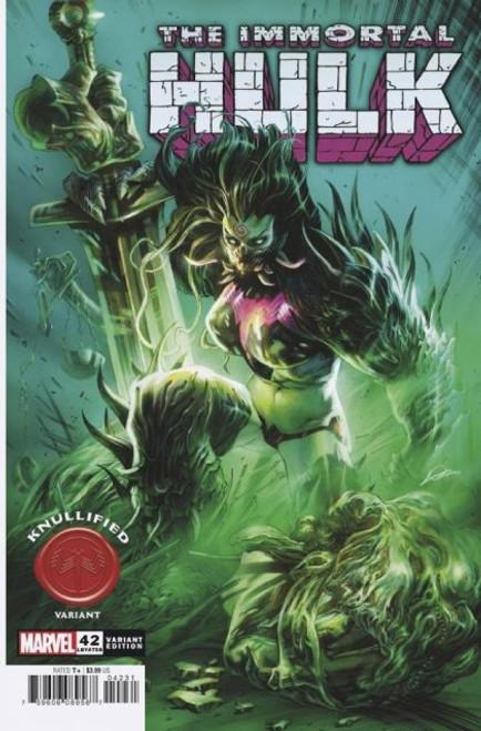 Marvel The Immortal Hulk #42 Comic Book [Knullified Variant]