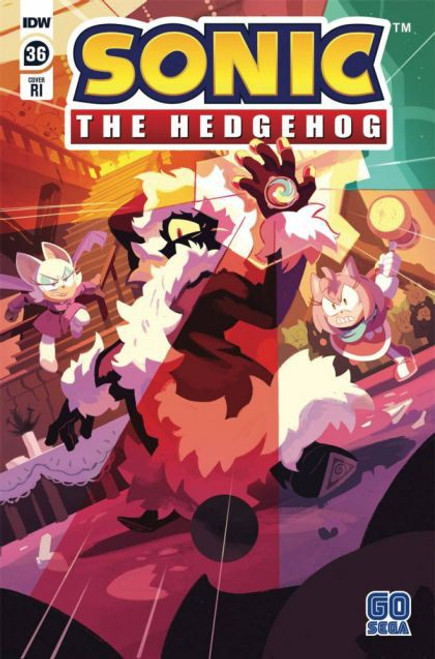 IDW Publishing Sonic the Hedgehog, Vol. 3 #36 Comic Book [Fourdraine Incentive Variant]