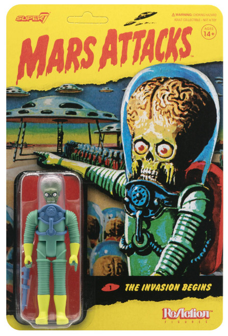 ReAction Mars Attacks The Invasion Begins Action Figure