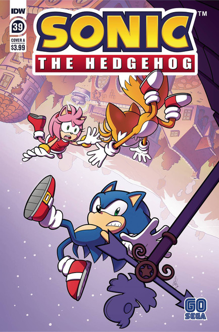 IDW Sonic The Hedgehog #39 Comic Book [Cover A Abby Bulmer] (Pre-Order ships March)