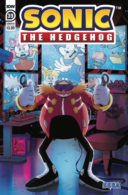 IDW Sonic The Hedgehog #39 Comic Book [Cover B Gigi Dutreix] (Pre-Order ships March)