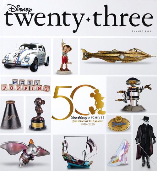 Disney Twenty Three Magazine [Disney Archives]