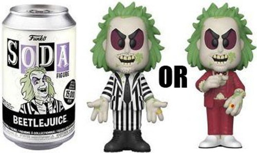 Funko Vinyl Soda Beetlejuice Limited Edition of 15,000! Vinyl Figure [1 RANDOM Figure! Look For The Rare Chase!] (Pre-Order ships April)
