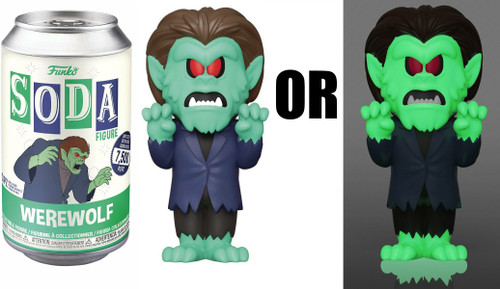 Funko Scooby Doo Vinyl Soda Werewolf Limited Edition of 7,500! Vinyl Figure [1 RANDOM Figure, Look For The Chase!] (Pre-Order ships October)