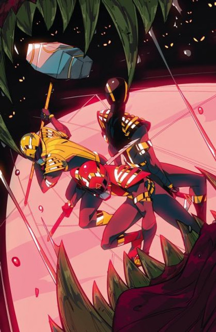 Boom! Studios Power Rangers #3 Comic Book [Di Nicuolo Virgin Variant]