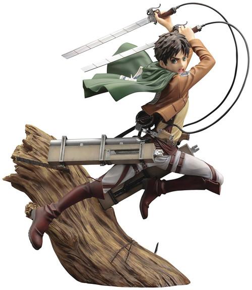 Attack on Titan ArtFX J Eren Yeager Statue [New Package Version] (Pre-Order ships October)