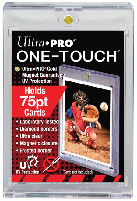 Ultra Pro Card Supplies UV One-Touch Magnetic Card Holder [75 Pt]