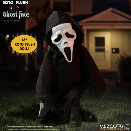 Scream Designer Series Ghost Face 18-Inch Roto Plush Doll (Pre-Order ships August)