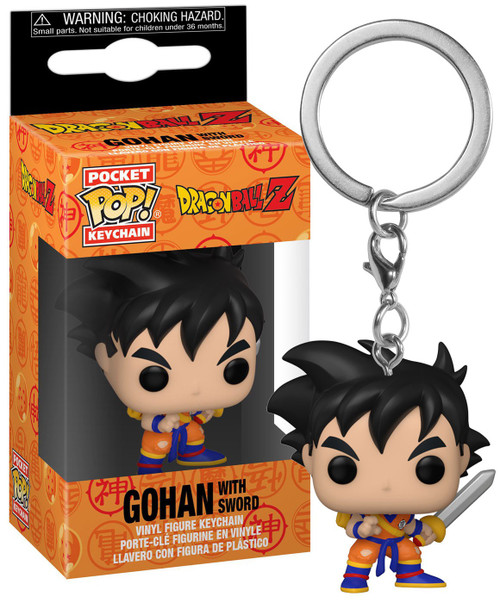 Funko Dragon Ball Z POP! Animation Gohan Keychain [with Sword] (Pre-Order ships October)