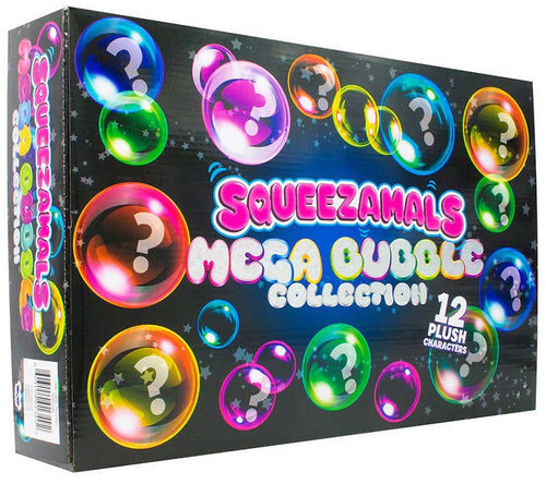 Squeezamals Mega Bubble Collection Exclusive Mystery 12-Pack