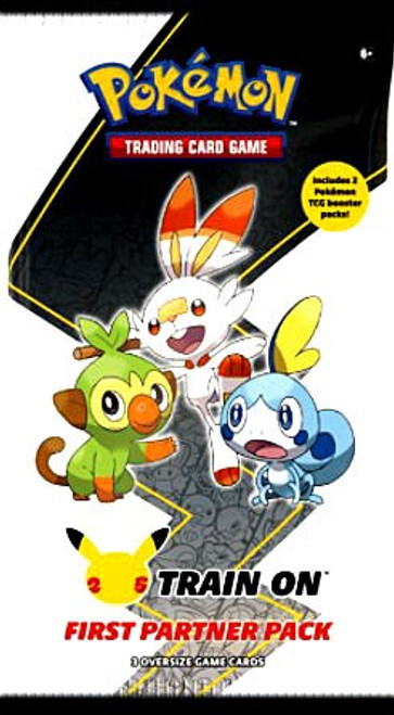 Pokemon Trading Card Game First Partner Galar Pack [3 Oversize Promo Cards!] (Pre-Order ships March)