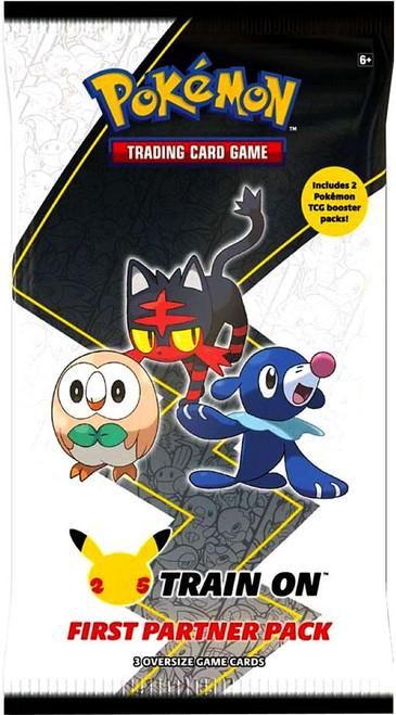 Pokemon Trading Card Game First Partner Alola Pack [3 Oversize Promo Cards!] (Pre-Order ships April)