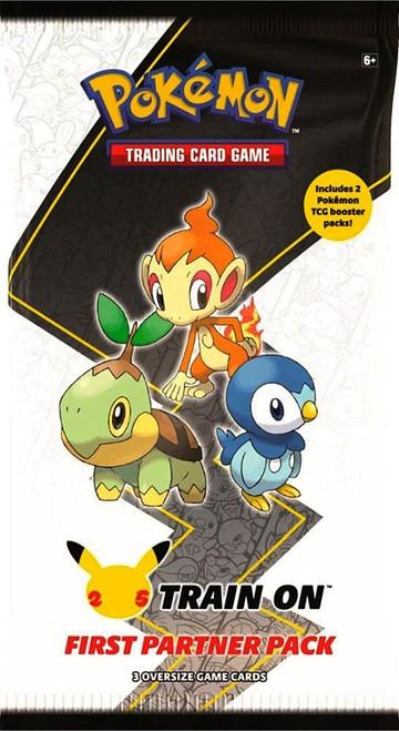 Pokemon Trading Card Game First Partner Sinnoh Pack [3 Oversize Promo Cards!] (Pre-Order ships July)