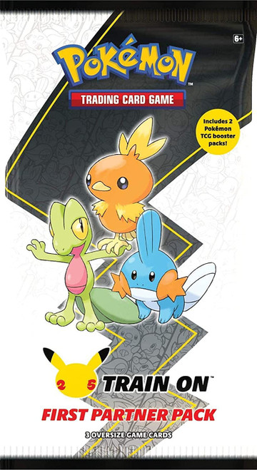 Pokemon Trading Card Game First Partner Hoenn Pack [3 Oversize Promo Cards!] (Pre-Order ships August)