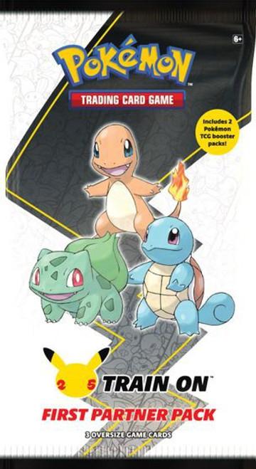 Pokemon Trading Card Game First Partner Kanto Pack [3 Oversize Promo Cards!] (Pre-Order ships October)