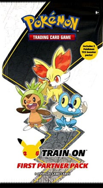 Pokemon Trading Card Game First Partner Kalos Pack [3 Oversize Promo Cards!] (Pre-Order ships May)
