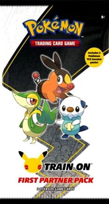 Pokemon Trading Card Game First Partner Unova Pack [3 Oversize Promo Cards!] (Pre-Order ships June)