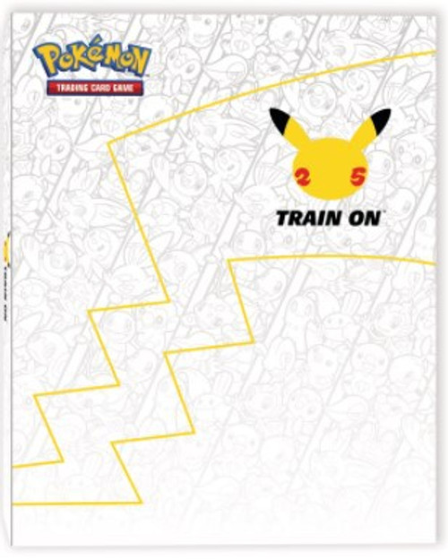 Pokemon First Partner Collector's Binder & Oversize Pikachu Card [Holds Up To 30 OVERSIZED Cards!]