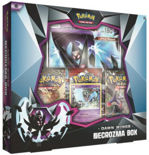 Pokemon Trading Card Game Dawn Wings Necrozma Box [International. 3 Booster Packs, Promo Card & Oversize Card!] (Pre-Order ships February)