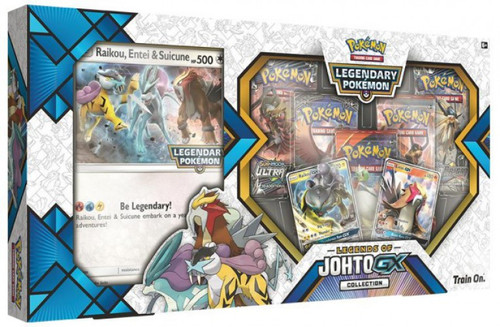 Pokemon Trading Card Game Legends of Johto GX Premium Collection [5 Booster Packs, 2 Promo Cards & Oversize Card] (Pre-Order ships May)