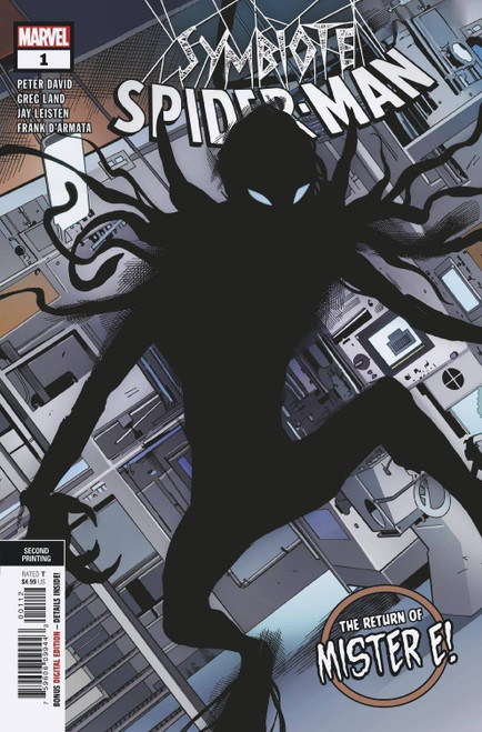 Marvel Comics Symbiote Spider-Man King in Black #1 of 5 Comic Book [2nd Printing Variant Cover]
