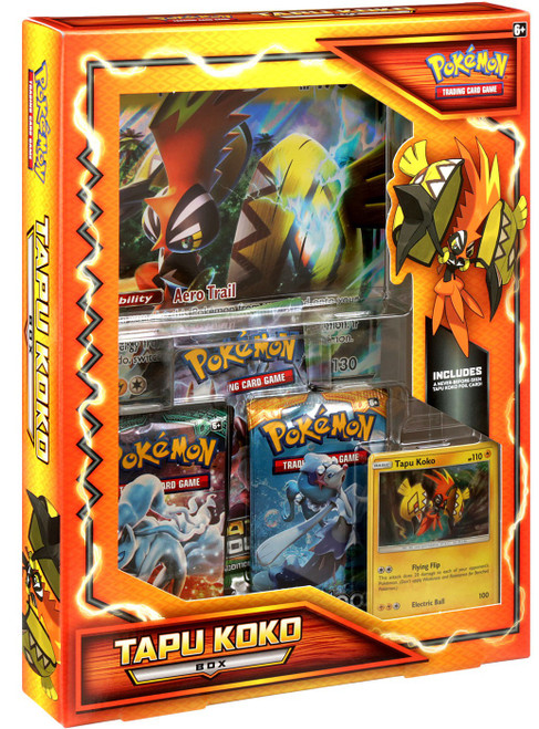 Pokemon Trading Card Game XY Tapu Koko Box [International ] (Pre-Order ships February)