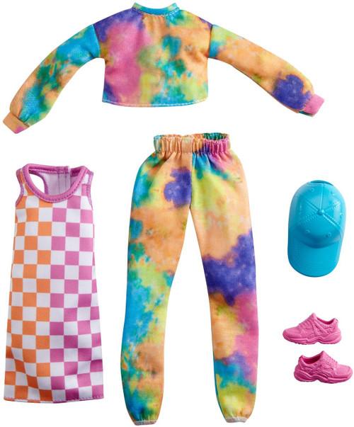 Barbie Fashions Tie-Dye Joggers & Sweatshirt Fashion 2-Pack