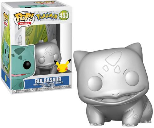Funko Pokemon POP! Games Bulbasaur Vinyl Figure [Metallic Silver] (Pre-Order ships May)