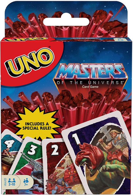 Masters of the Universe UNO Card Game