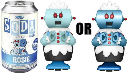 Funko The Jetsons Vinyl Soda Rosie Limited Edition of 10,000! Vinyl Figure [1 RANDOM Figure, Look For The Chase!]