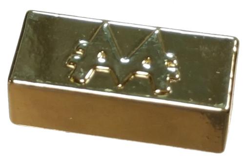 Monopoly Surprise Exclusive Collectible Tokens Gold Bar Ultra Rare Token [Loose]
